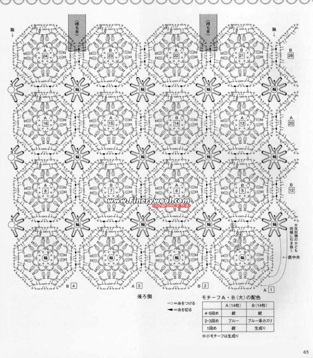 手工钩织的各种日用品(有图解) - xrzs000 - 心如止水