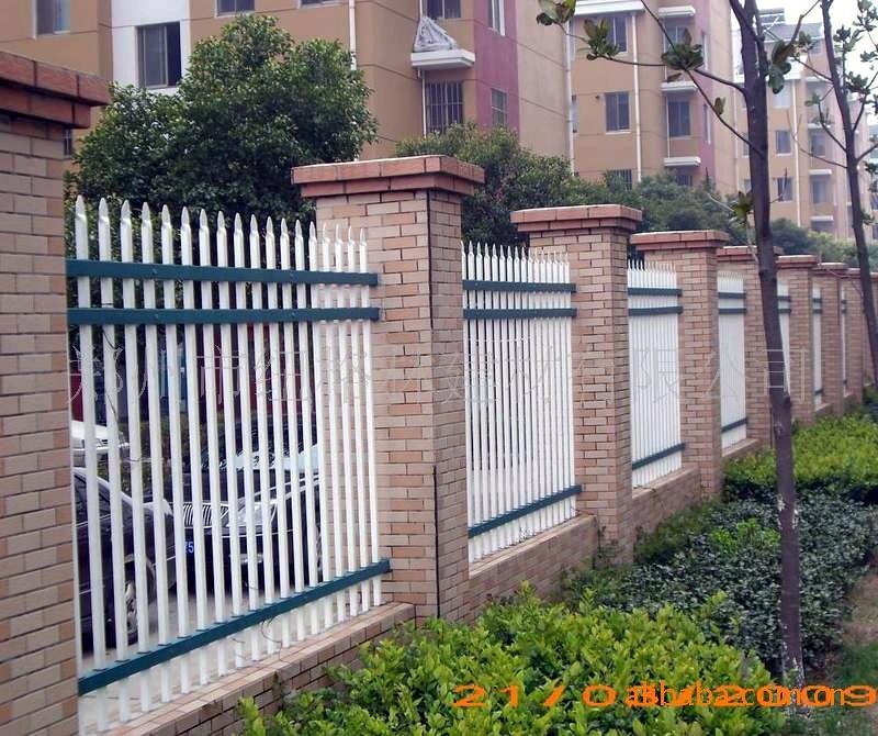 园艺护栏 锌钢护栏生产厂家批发美观耐用不生锈的庭院 热镀锌护栏 园