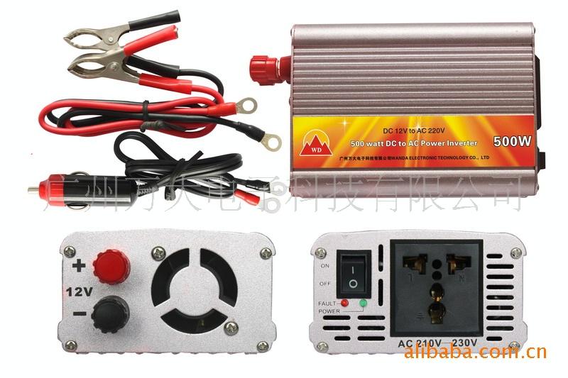 500W 电源转换器 直流转交流图片