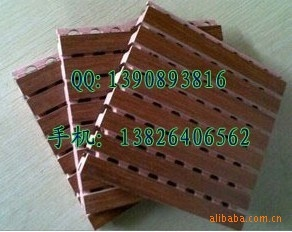 隔音-吸声材料-广州市槽木吸音板-录音室-播音室-会议室
