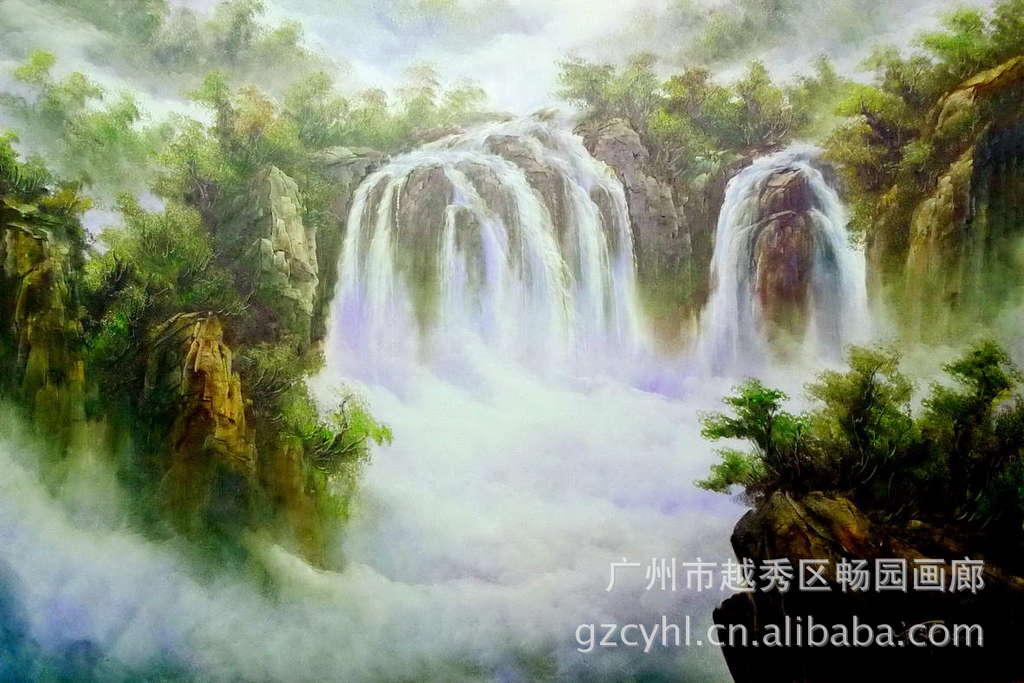 风景油画,原创高端油画,大师纯手绘油画,艺术品,空间艺术摆件图片_2