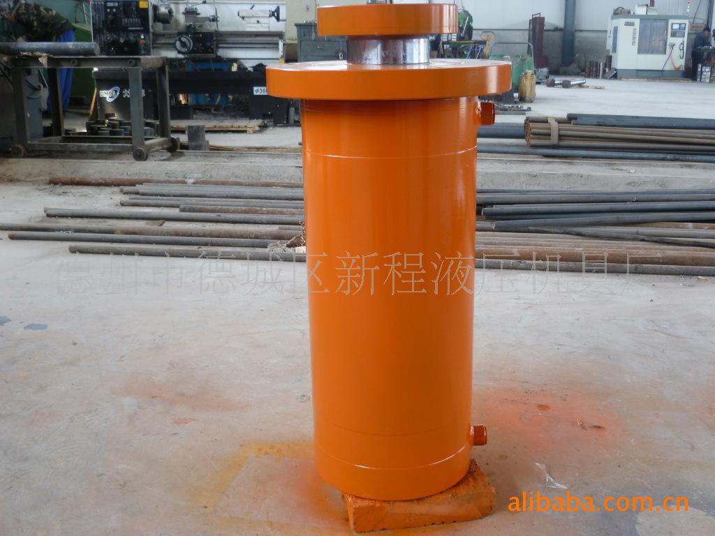 液压油缸液压千斤顶QF140/100单作用油缸工程油缸大吨位油缸