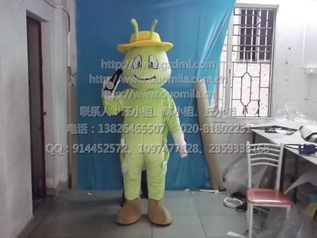 专业生产卡通人偶服装/卡通动漫道具/企业吉祥物/毛毛虫人偶服装