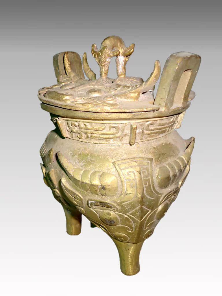 三足鬲 厂家直销仿古青铜器,工艺品礼品,家居收藏,古董