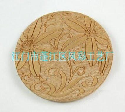 【加工、生产、定制、镂空】木质新奇特杯垫、隔热垫