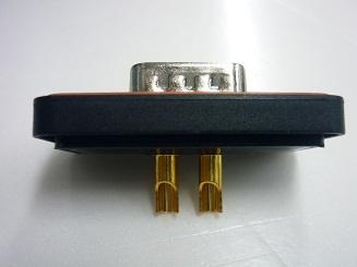大电流D-SUB 防水连接器 焊线