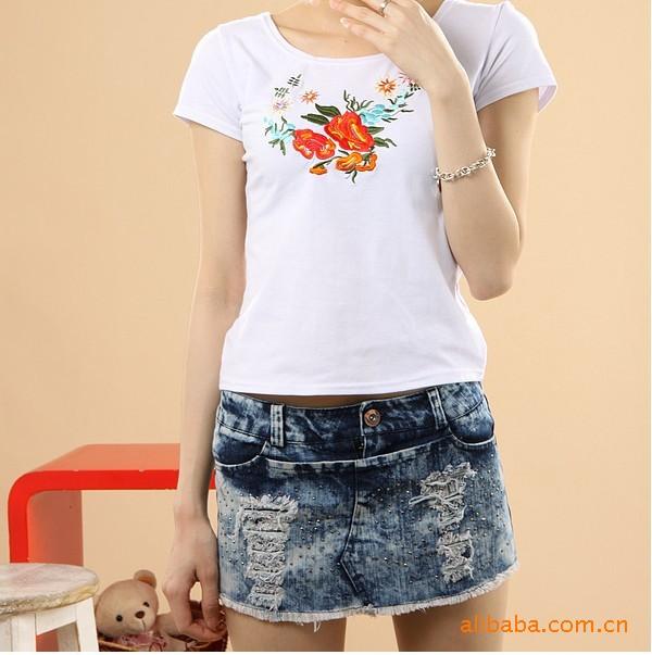 款韩版女装时尚休闲热卖牛仔短裙裤图片,2011新款韩版女装时尚休
