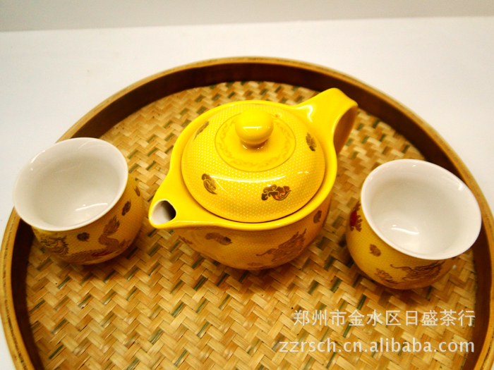 供应高档茶叶 茶具 青花瓷茶具 皇家贵族茶具 陶瓷茶具套装