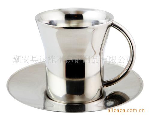 不銹鋼咖啡杯,廣口咖啡杯,雙層咖啡杯,不銹鋼吧臺系列用