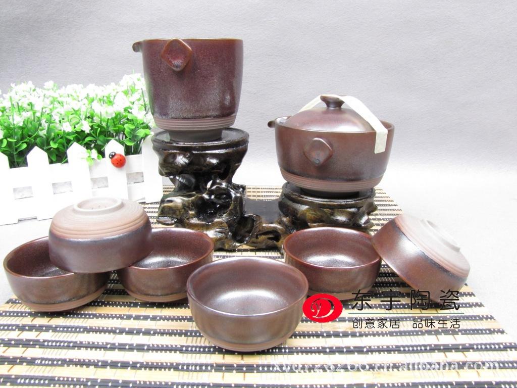 直销德化高档仿古陶瓷茶具套装 新品茶具 送礼茶具支持混批