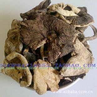 野生口蘑 山坡黑片蘑菇 张家口张北特产 蘑菇中的极品 干蘑菇
