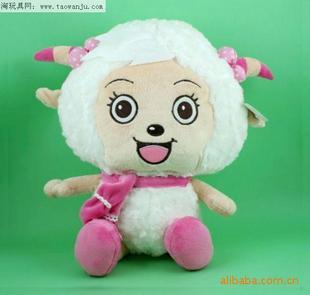 精美实用毛绒玩具、灰太狼、喜羊羊、美羊羊、2012流行毛绒玩具