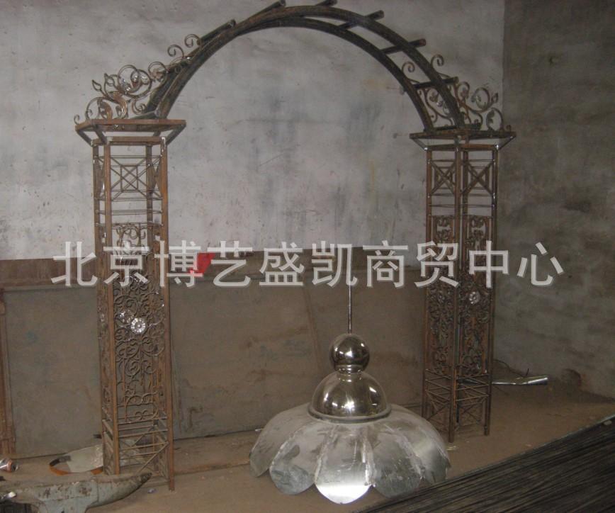 欧式铁艺拱门图片