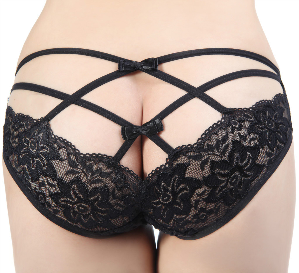 Womans Sexy Lingerie Panties Briefs Lace G-string Underwear Thong ...