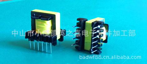 小家电适用、驱动电源立式E16(4+6)高频变压器图片_6