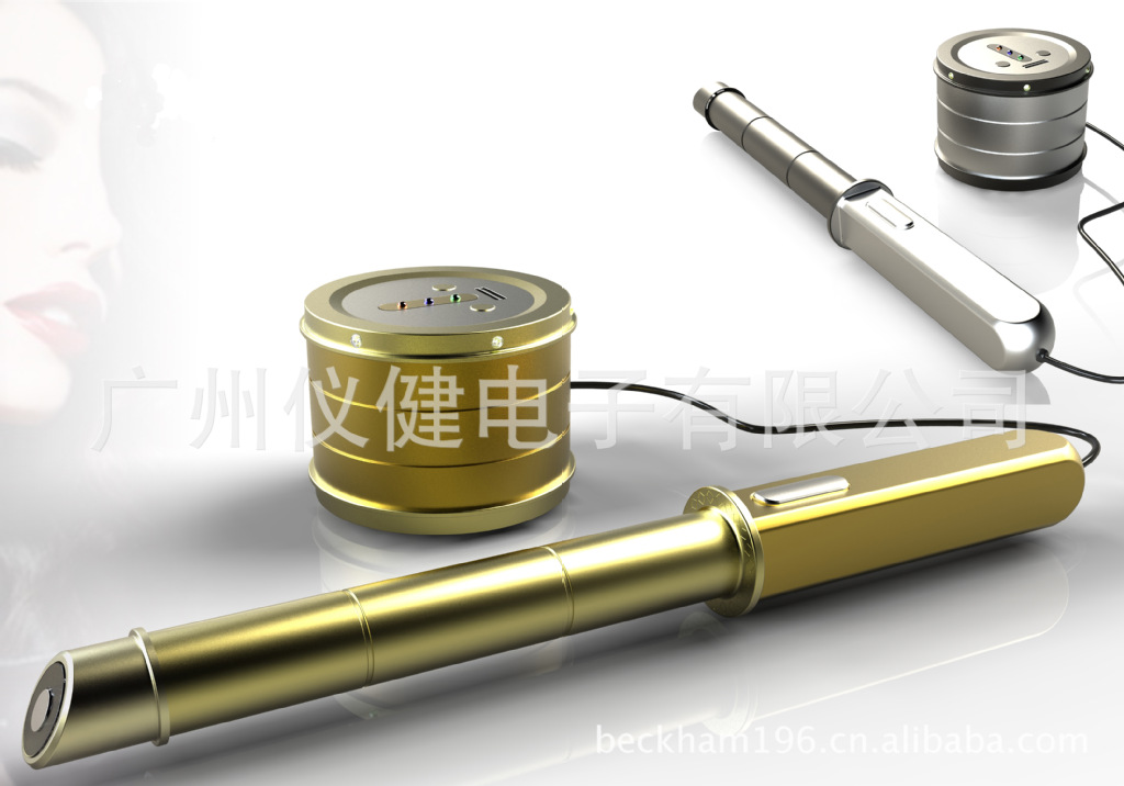 双极射频拉皮仪 祛皱美容仪 RF电波拉皮 除皱紧肤仪
