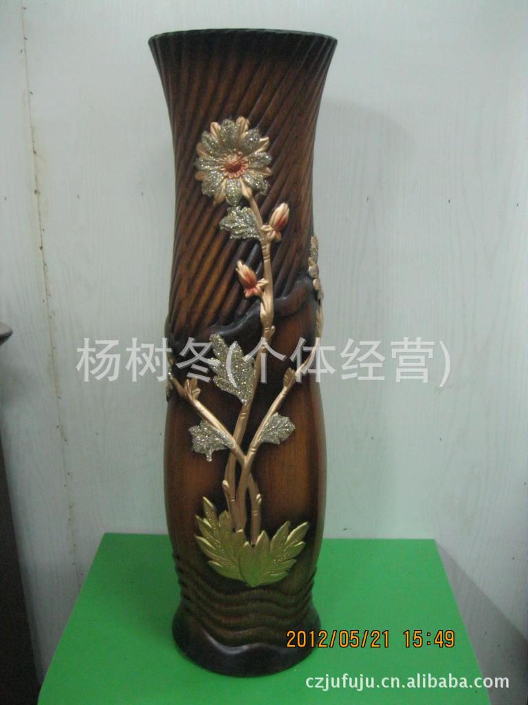 厂家直接批发.陶瓷手工花瓶32寸欧式.落地精美花瓶