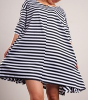 PROMOTION!FREE SHIPPING ,Ladies leisure style dress,women's clothing  , loose skirt, 2 colors