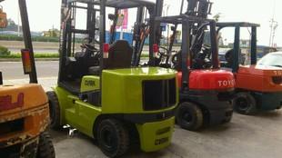 广东东莞市二手物流设备-年底促销 低价销售克拉克3吨二手叉车