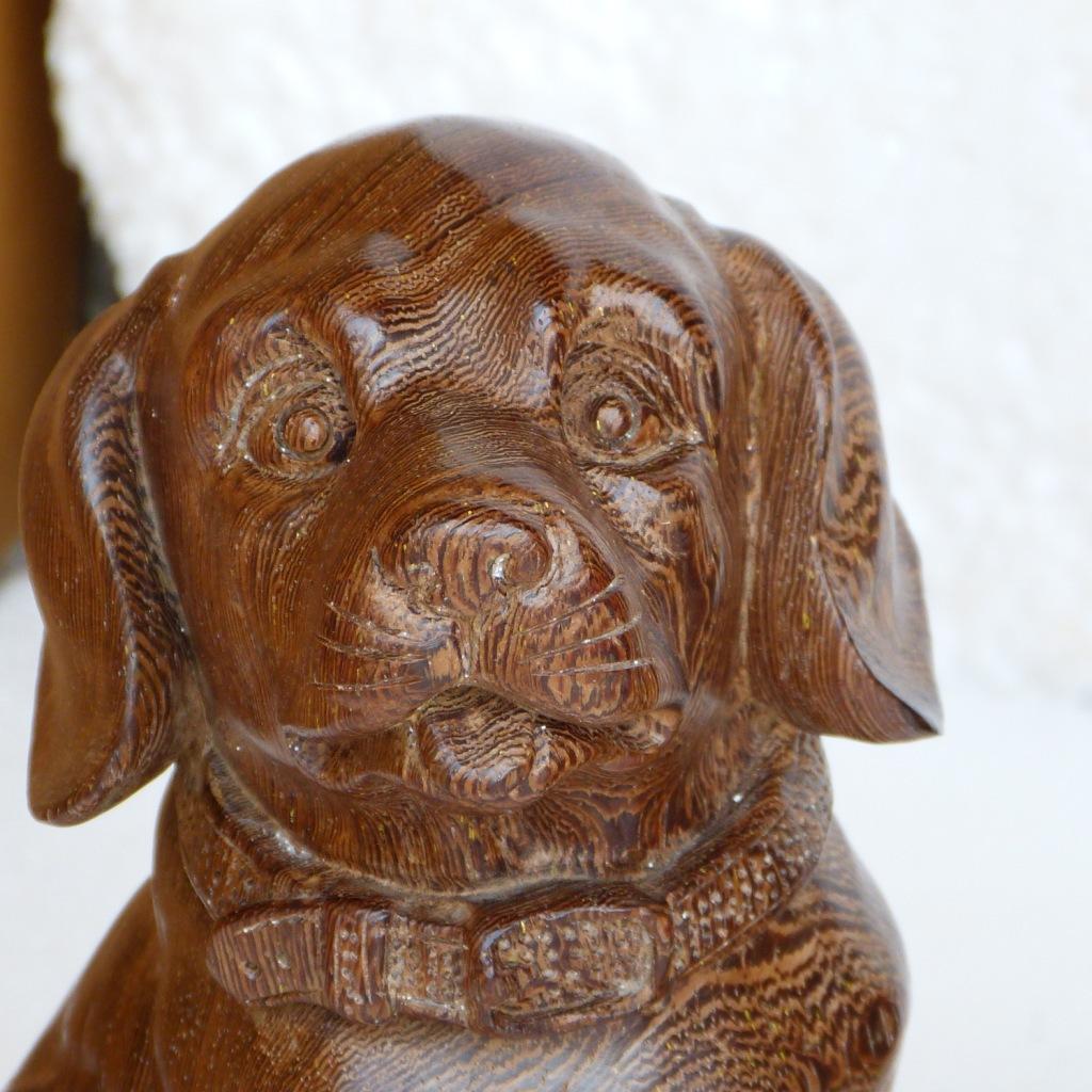 发红木 木雕 根雕 工艺品 摆件 动物雕像 鸡翅木 小旺狗图片,批发红