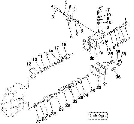 康明斯喷油泵联轴节零件3016021 VS调速器壳总成