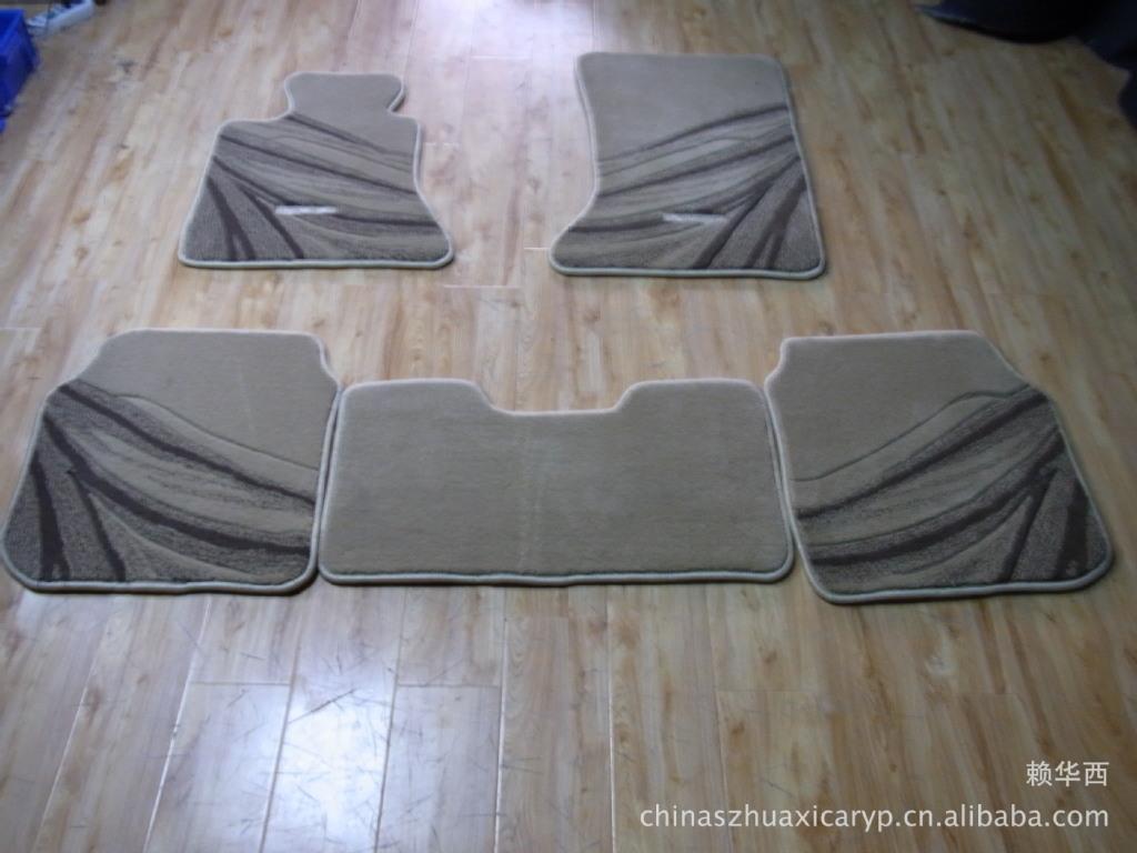 专业供应奔驰S320高档豪华专车专用料地毯