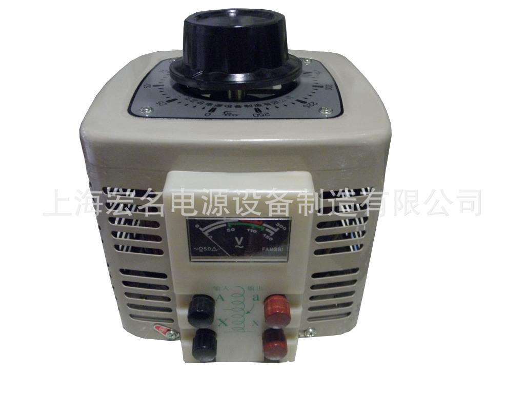 调压器 单相调压器 接触式调压器 手动调压器 自耦调压器