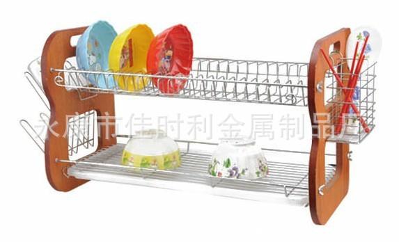 不锈钢碗架 双层碗架 不锈钢碗架 沥水架批发 沥水碗架 支付宝担保交易