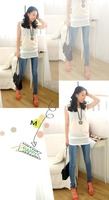 Free shopping 2012 fashion normic women's tight bag pp pencil skinny jeans