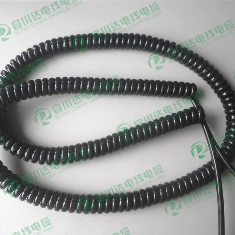 9芯螺旋线、PU螺旋线、9芯亮面螺旋线、容川达螺旋线厂、1