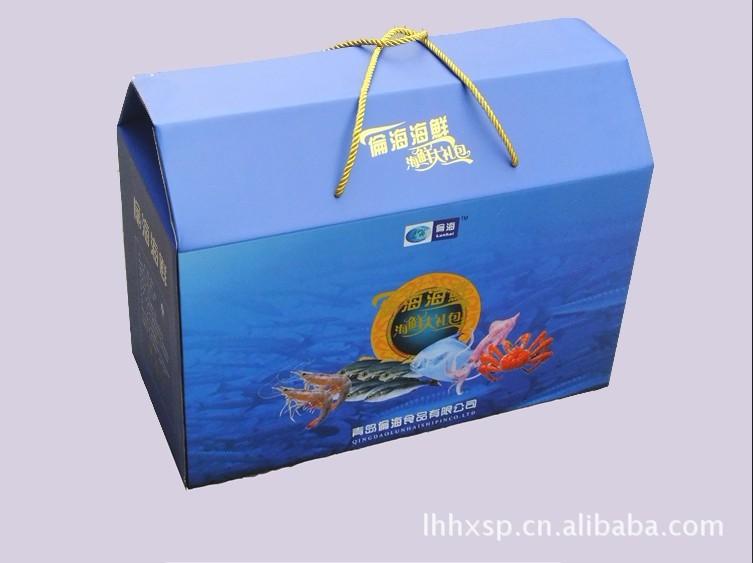 山东供应高档的礼盒包装  冷冻海鲜水产 高营养  滋补养生专选