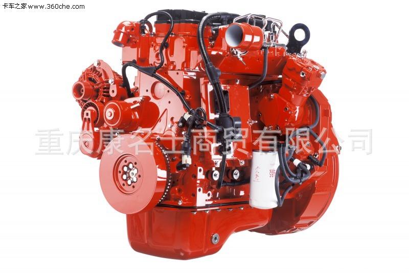 乘龙LZ5100XXYM3AA厢式运输车ISB3.9-140东风康明斯发动机