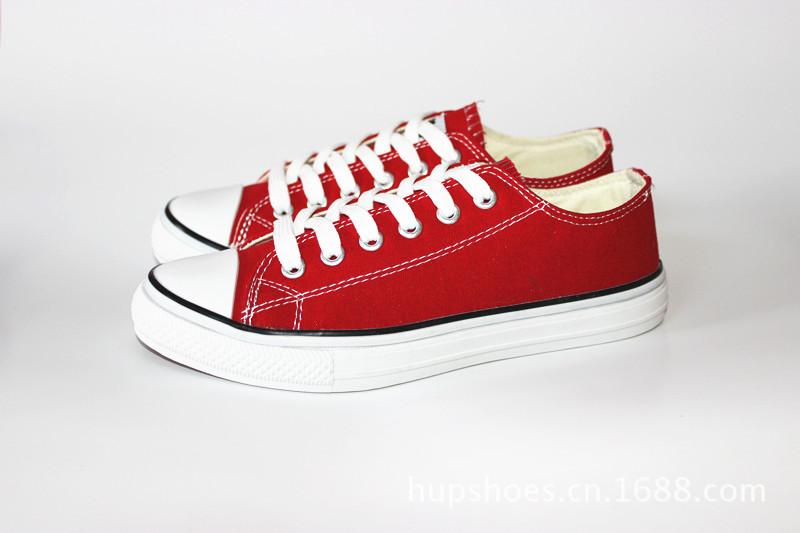 女士 瑞安 帆布鞋/海上蓓尔女士经典基本款帆布鞋纯色单鞋*
