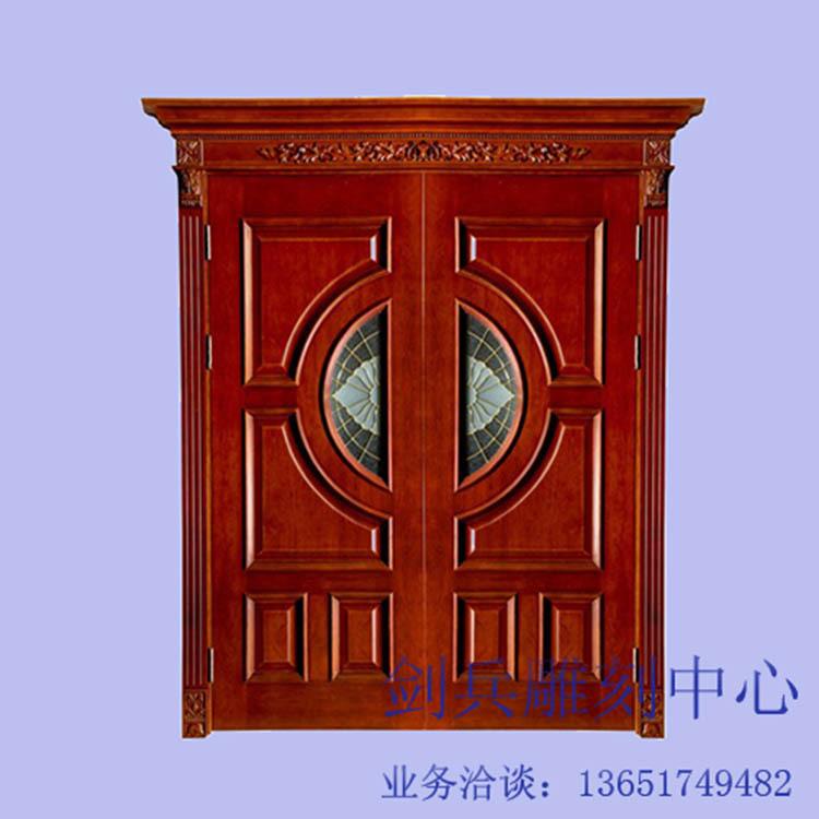 墅门板雕花平面立体图案精雕 -价格,厂家,图片,建材加工,上海