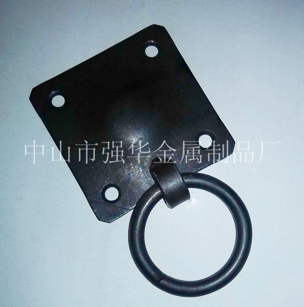 方形拉环 铁环拉手 圆环拉手 五金加工 欢迎来电 强华金属制品厂