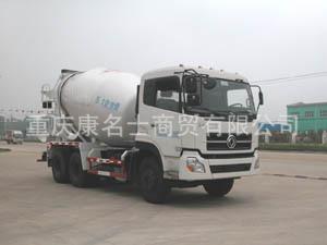 华威驰乐SGZ5251GJBA1混凝土搅拌运输车ISLe340东风康明斯发动机