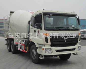 大迪BDD5253GJB-2混凝土搅拌运输车ISME345 30西安康明斯发动机