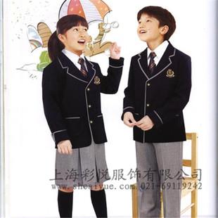 上海厂家长年供应学生校服 小学生校服 运动服 学生制服