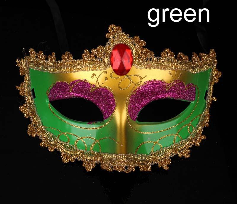 万圣节面具 化妆舞会面具 彩绘美女面具 厂家直销 阿里巴巴