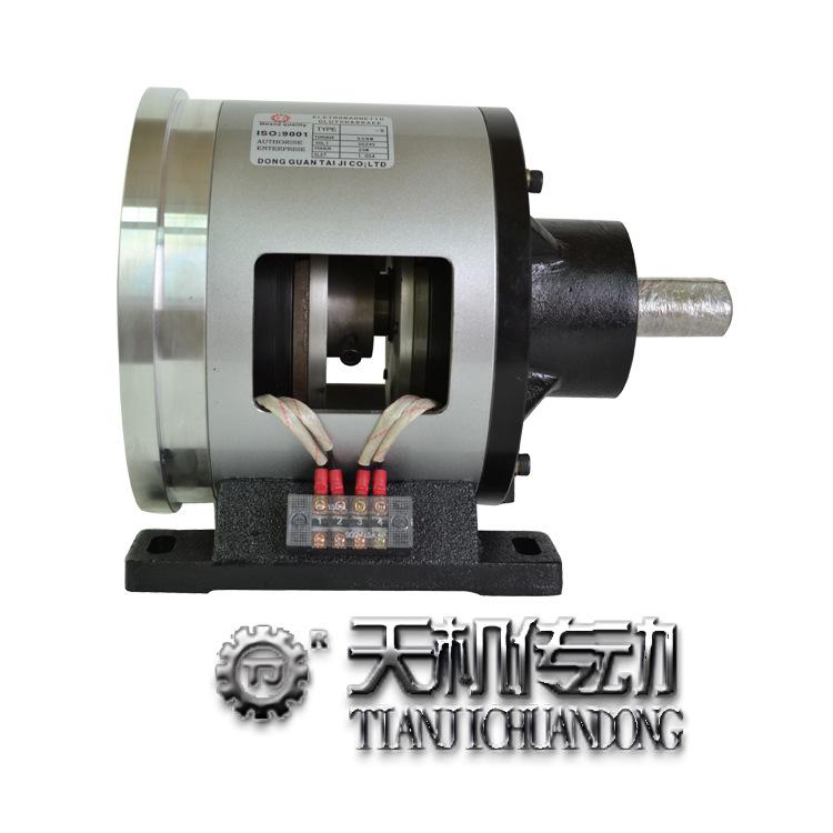 浙江单法兰电磁离合器刹车器组 POI-1.5Kg电磁刹车器离合器型号