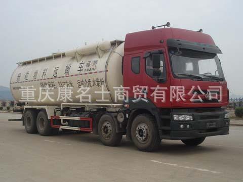 福狮LFS5312GFLLQ粉粒物料运输车L315东风康明斯发动机