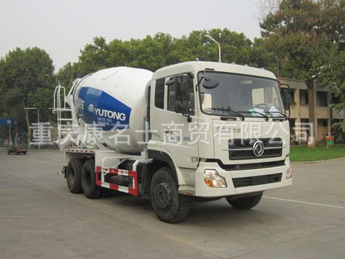 宇通YTZ5251GJB20F混凝土搅拌运输车ISLe340东风康明斯发动机
