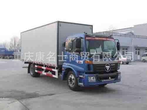 欧曼BJ5163VKCFG-S厢式运输车ISDe140东风康明斯发动机