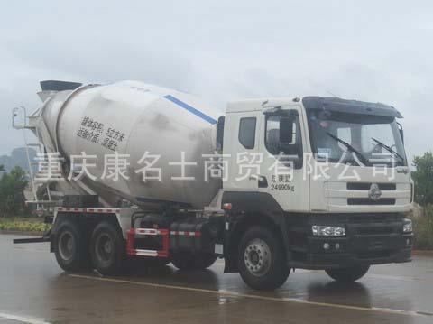 福狮LFS5250GJBLQ混凝土搅拌运输车L340东风康明斯发动机