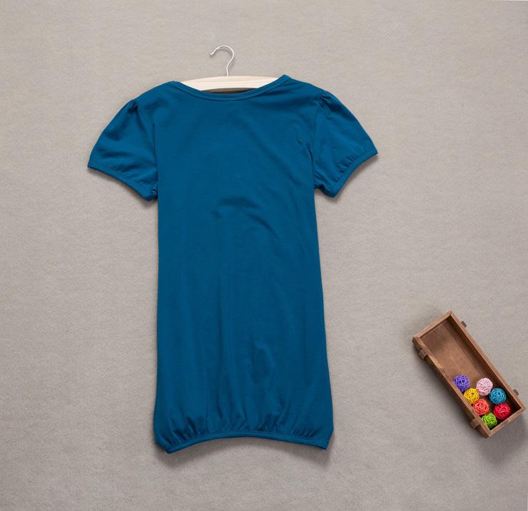 夏季女装加大码女T恤胖mm纯棉宽松加显瘦宽松简约短袖 批发的详