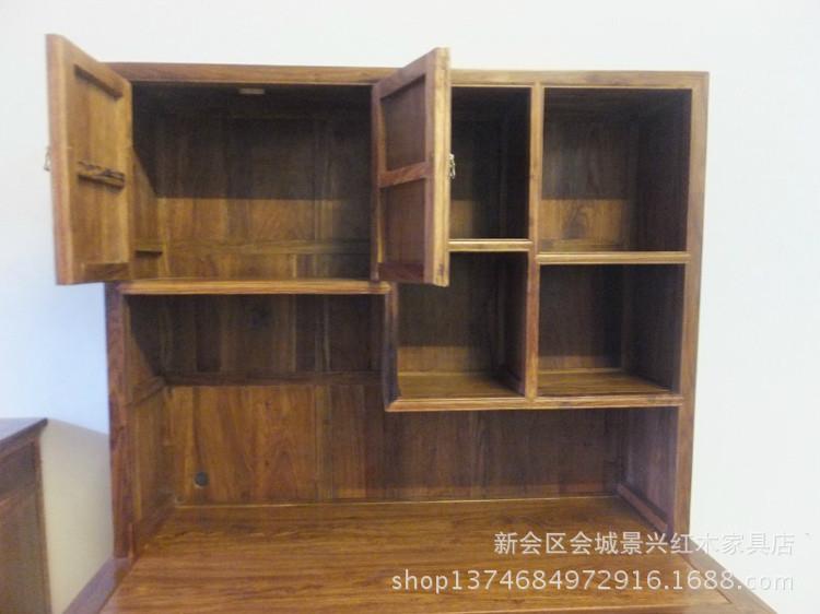 中式明清古典红木家具刺猬紫檀二合一明式电脑桌 -价格,厂家,图