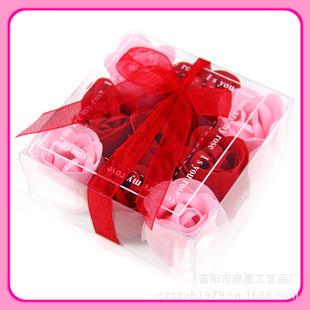 浙江富阳市厂家直销婚庆用品情人节礼品香皂花送女友送老师送同学