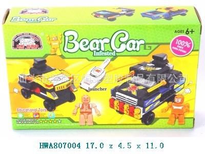 小熊出没自装积木车(4款混装)