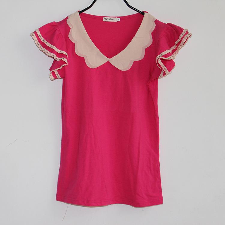 3新款韩版短袖t恤女潮衣服条纹短袖女t恤女修身的详细介绍,包括女