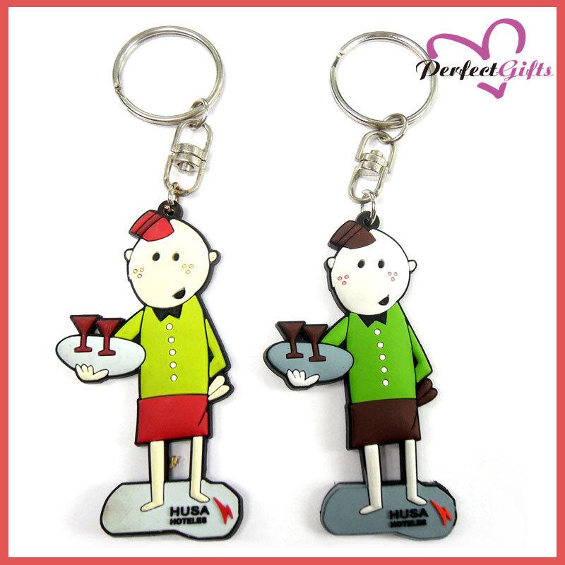 专业生产PVC钥匙扣.2D钥匙扣,软胶钥匙扣,卡通钥匙扣